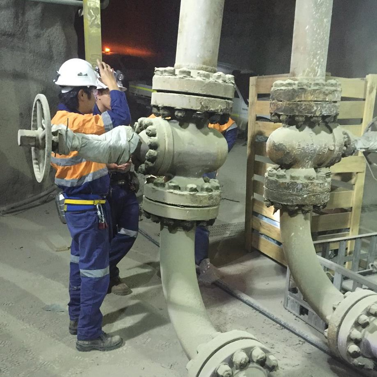 Northparkes Mine - Valve and spool change out
